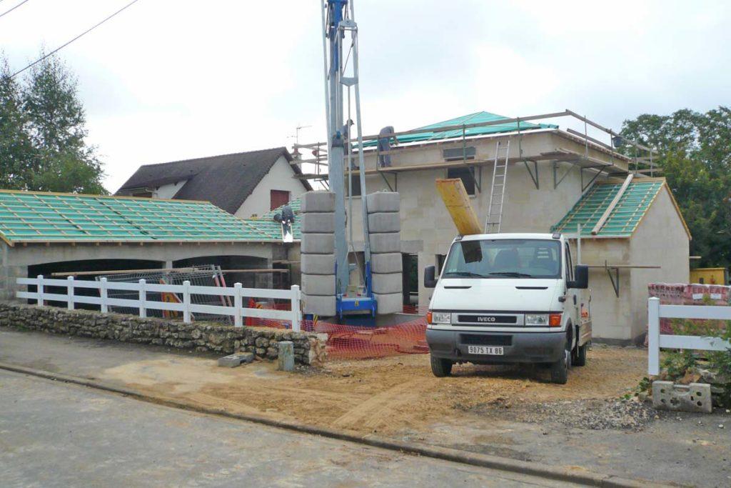 Construction de Maison - en cours